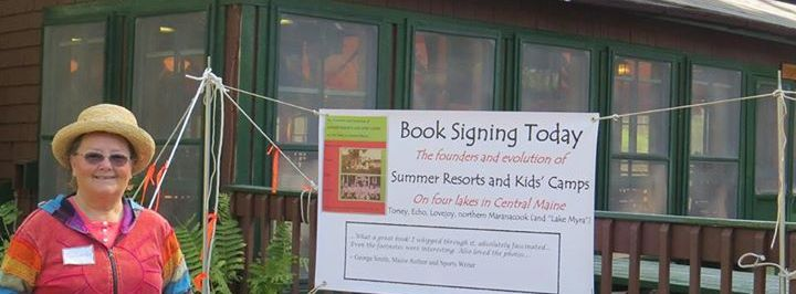 "Book Talk and Signing of ""Summer Resorts & Kid's Camps"" - Vassalboro, ME"