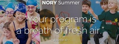 NORY Summer Camp Open House (Downtown)