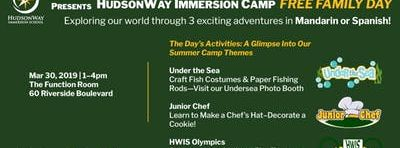 HudsonWay Immersion Camp FREE FAMILY DAY