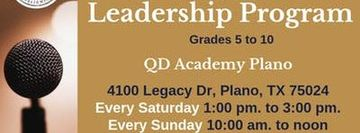 Public Speaking and Leadership Classes In Plano TX